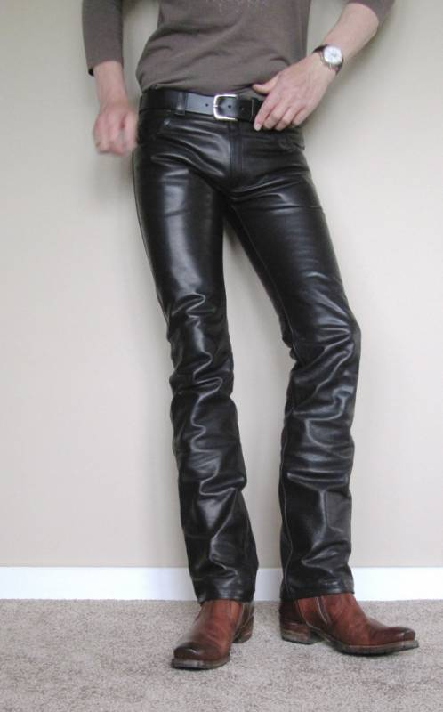 Genuine leather motorcycle chaps and pants, including, riding pants, motorcycle chaps, leather pants for an exhibition or simple make a statement, all at greatly discounted leather prices for men and women.